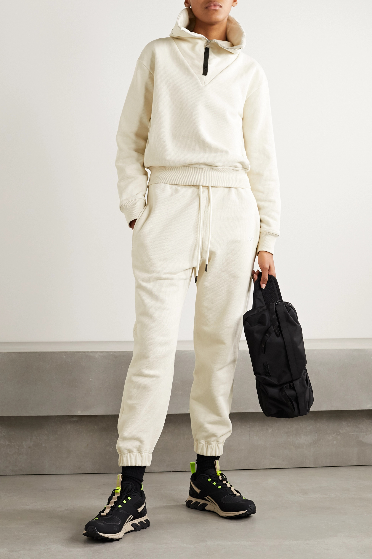 Reebok X Victoria Beckham Cotton-jersey track pants