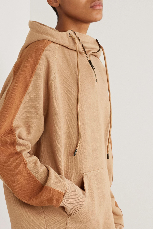 Reebok X Victoria Beckham Oversized cotton-jersey hoodie