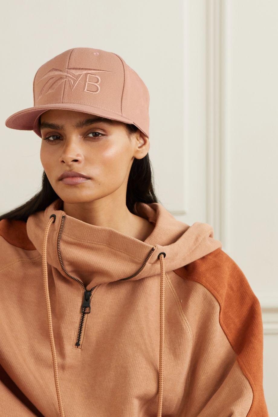 Reebok X Victoria Beckham Embroidered twill baseball cap