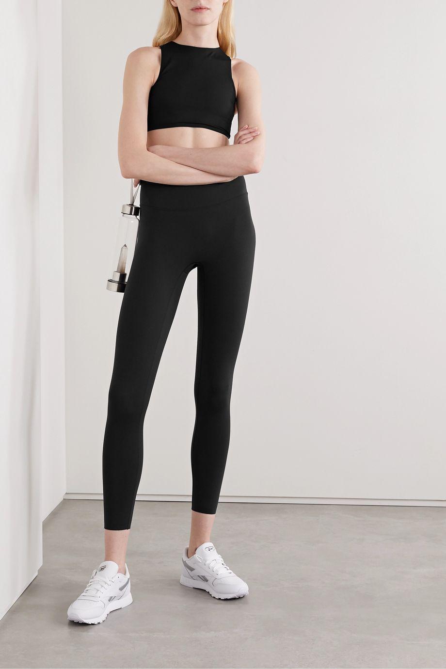 Reebok X Victoria Beckham Printed stretch leggings