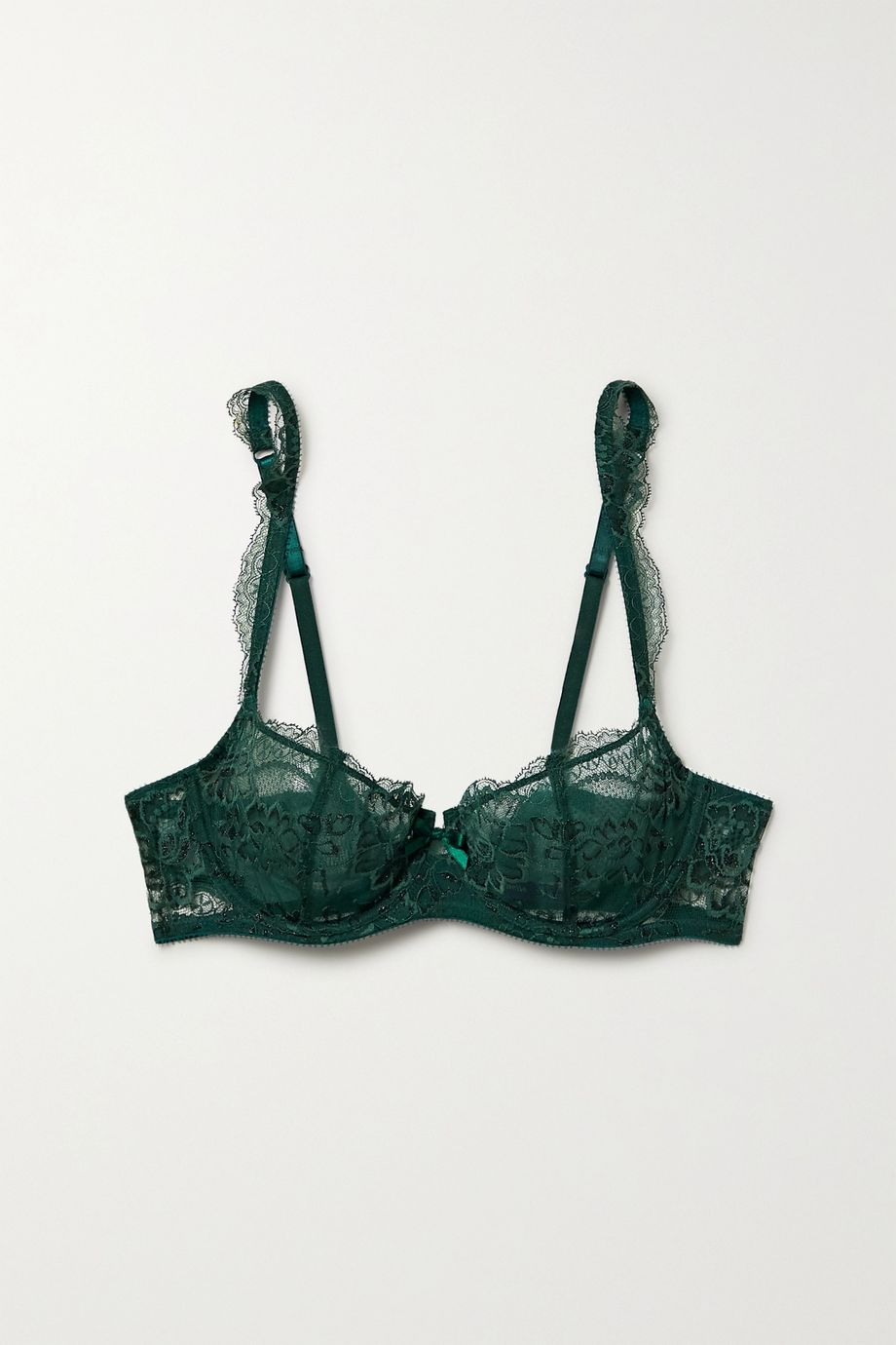 Journelle Isabel lace and tulle underwired bra