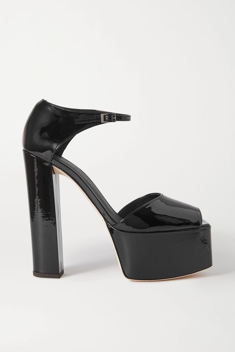 Giuseppe Zanotti Patent-leather platform sandals