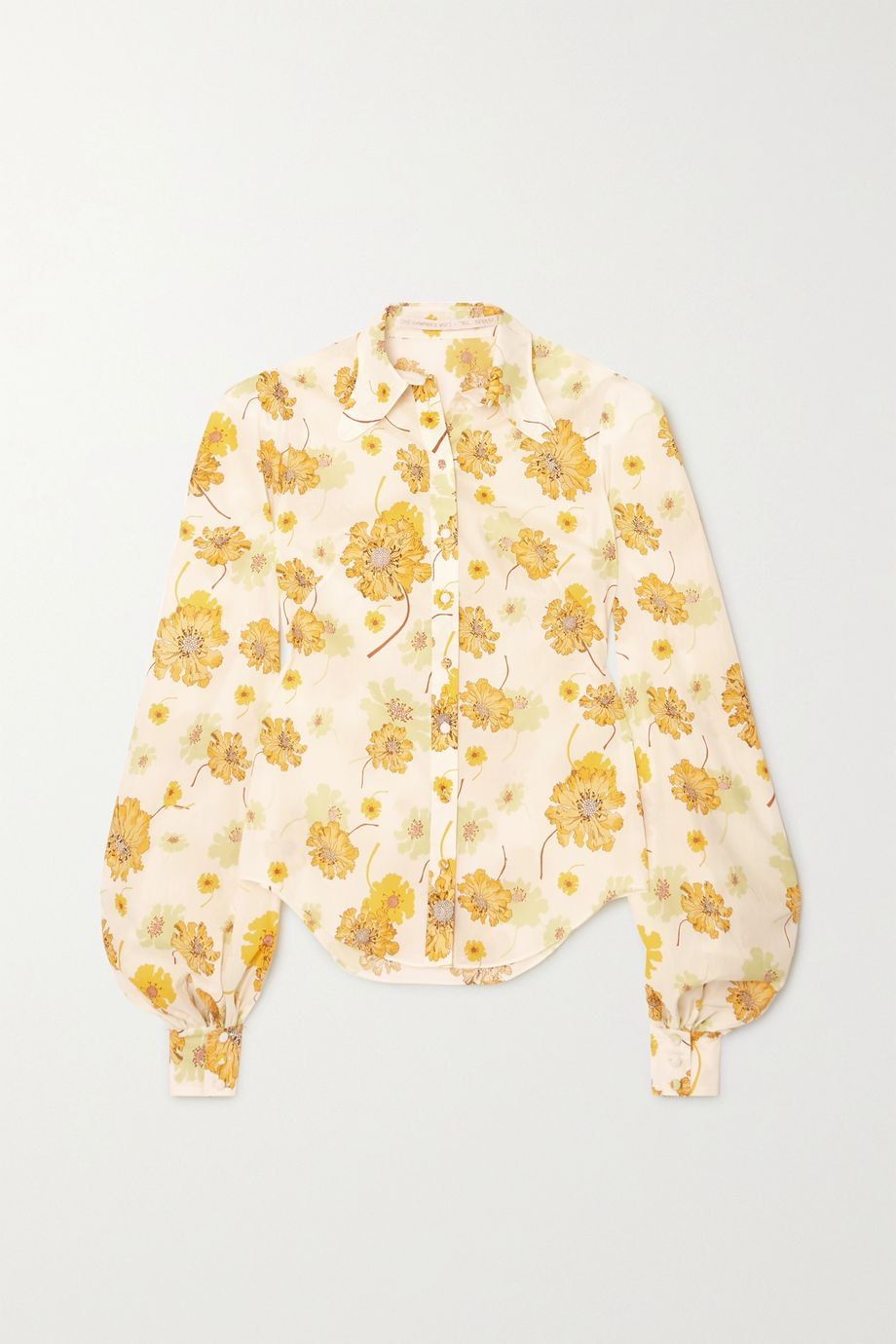 The Vampire's Wife McLoughland floral-print cotton shirt