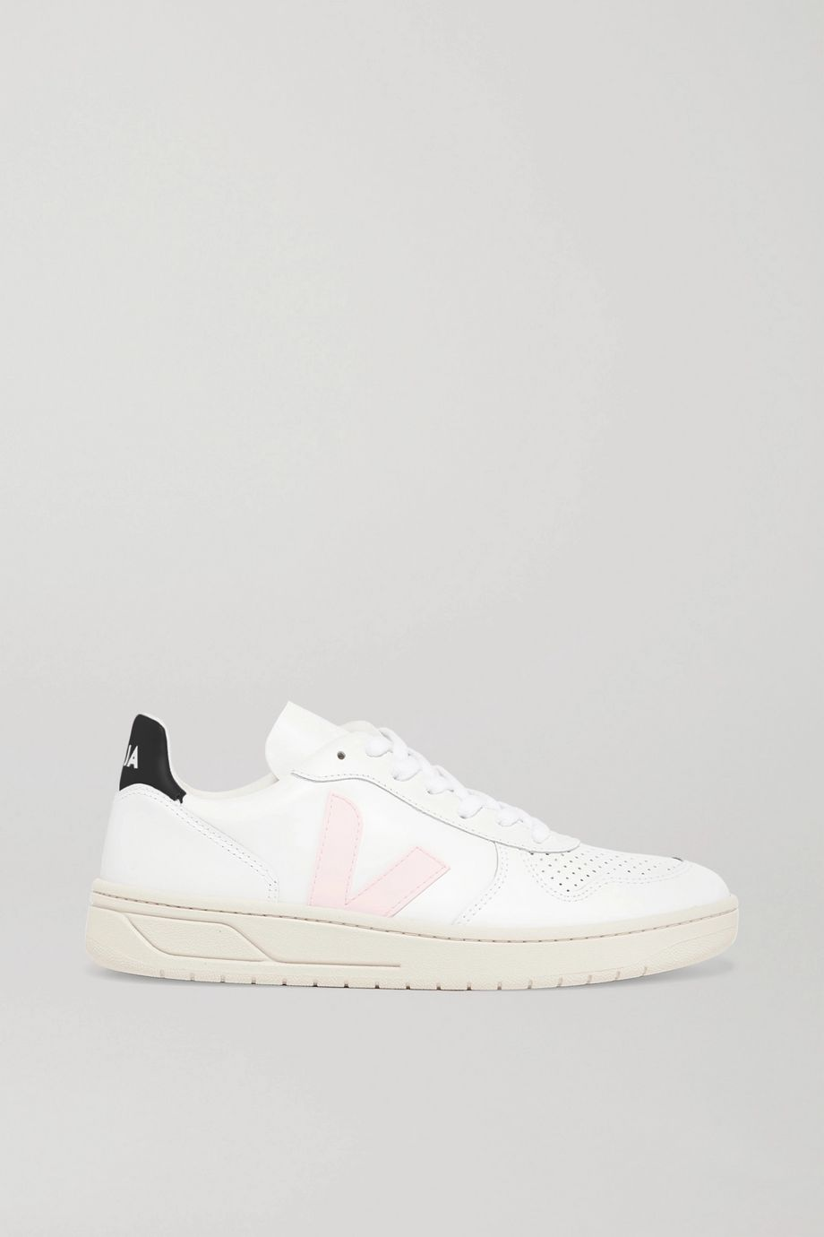 Veja + NET SUSTAIN V-10 leather sneakers