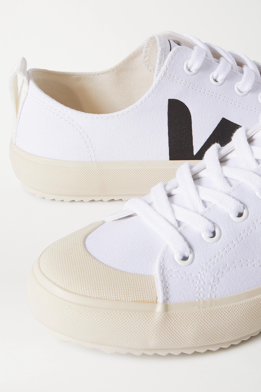 Veja + NET SUSTAIN Nova Sneakers aus Biobaumwoll-Canvas