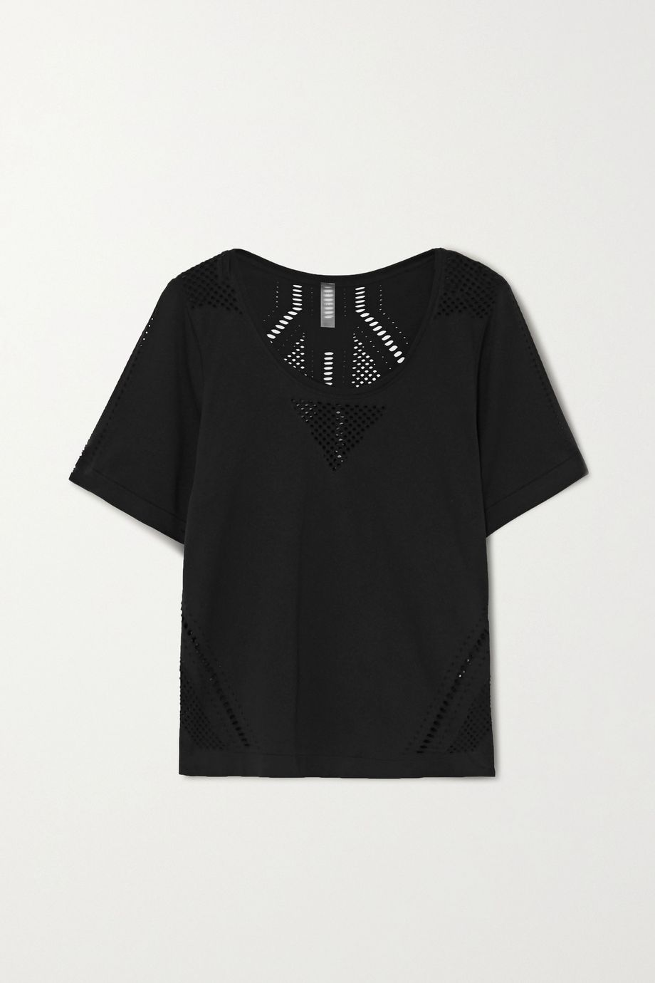 Varley Levinson perforated jersey T-shirt