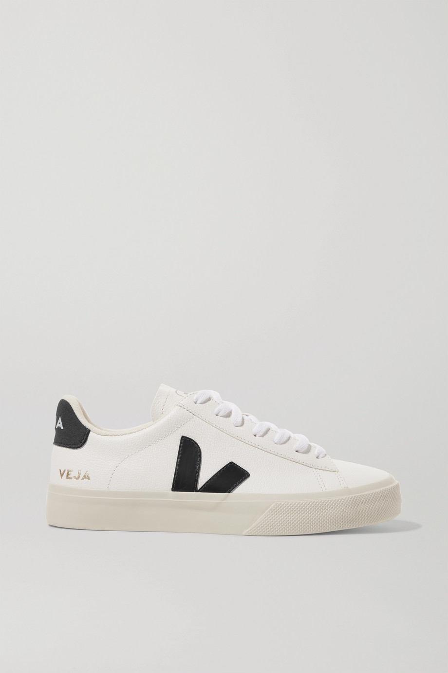 Veja Campo textured-leather sneakers