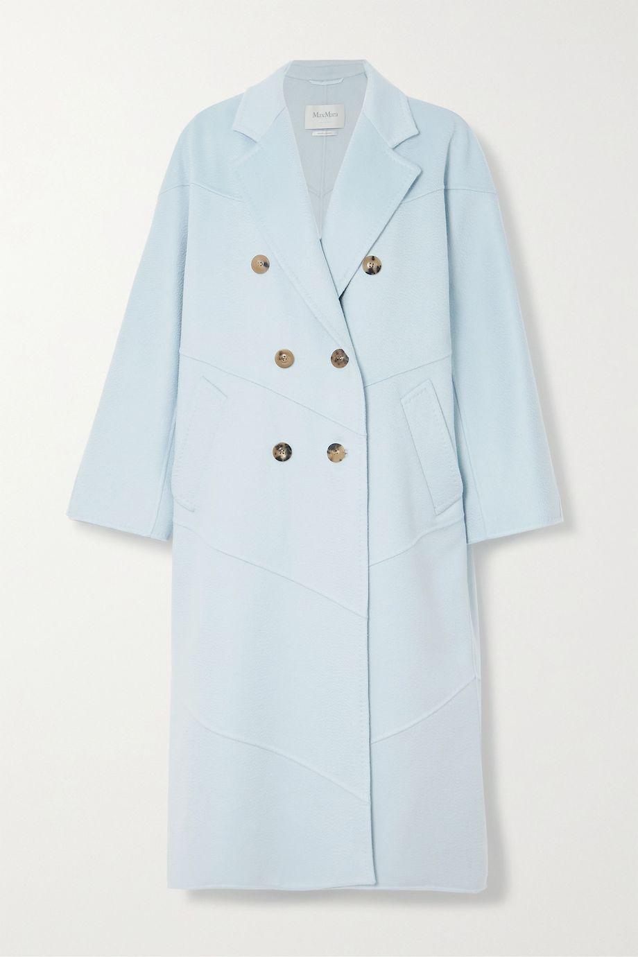 Max Mara Stagno double-breasted cashmere coat