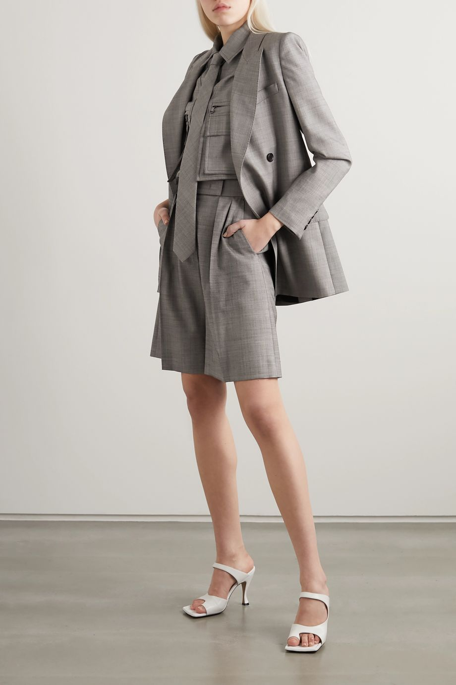 Max Mara Antiope double-breasted wool-blend blazer