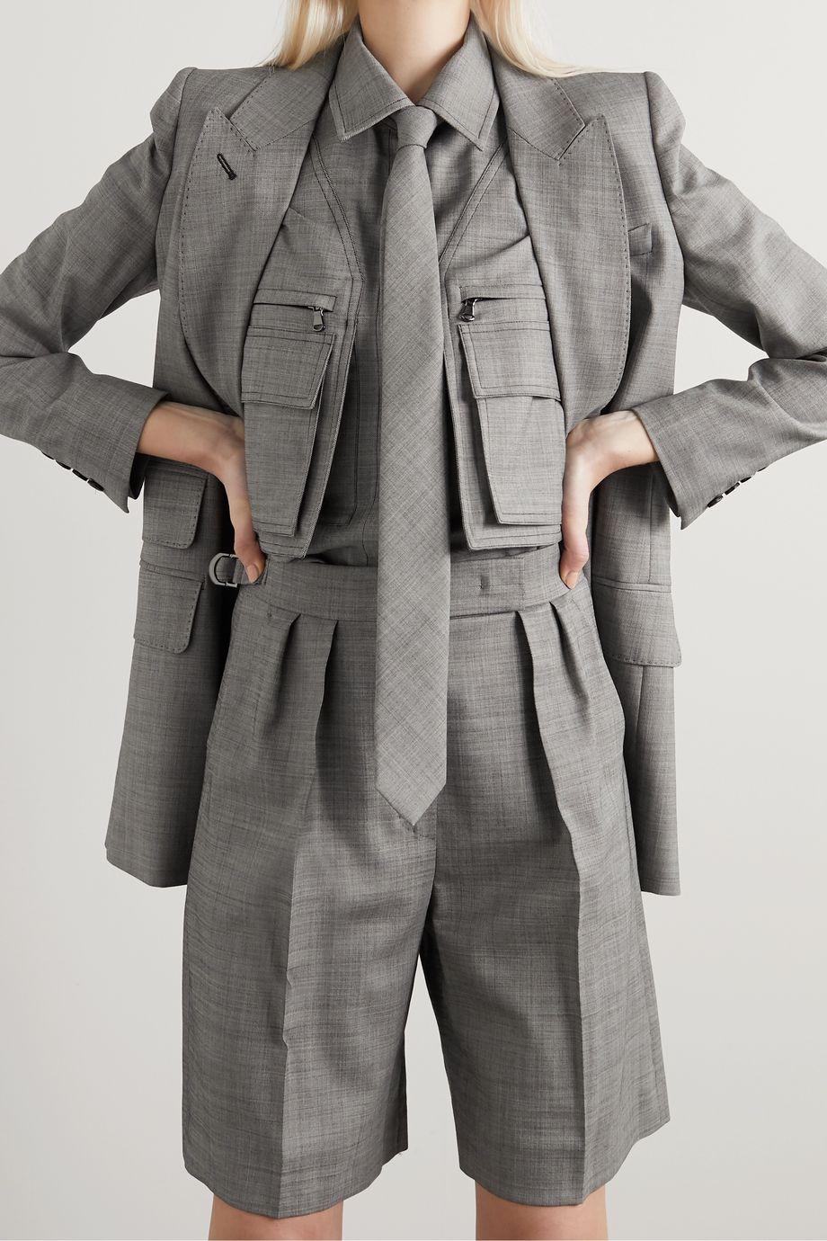 Max Mara Giulia wool-blend tie