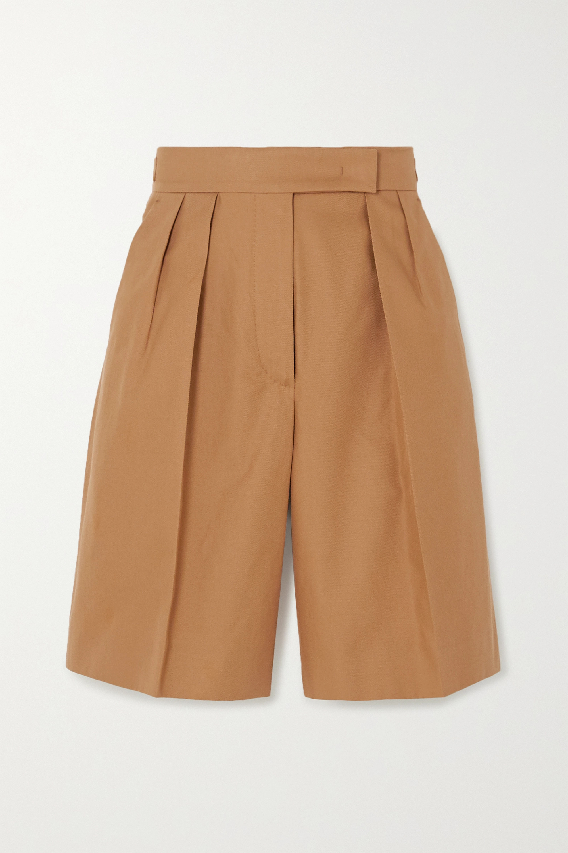 Max Mara Lux cotton-twill shorts