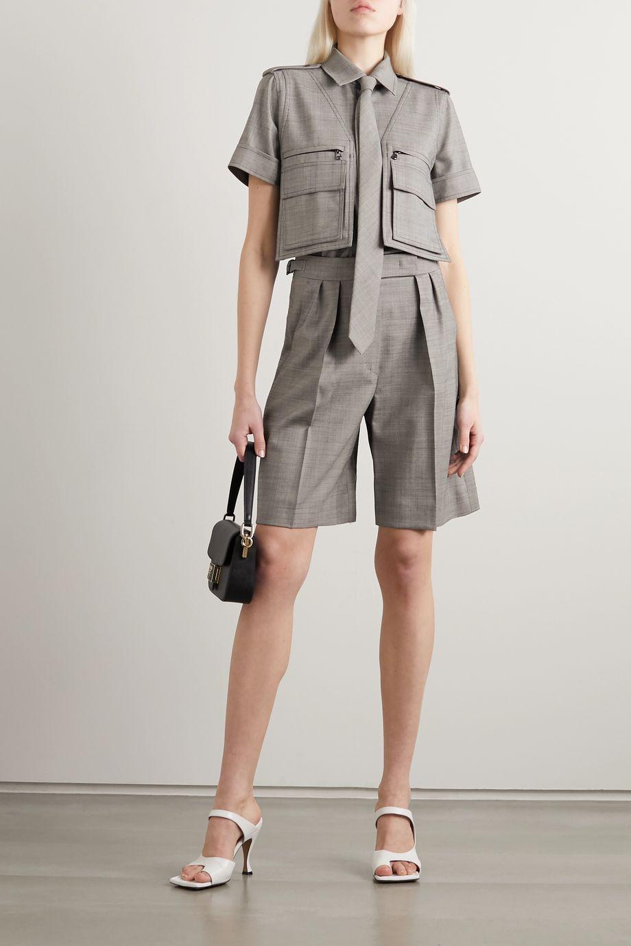 Max Mara Dovere wool-blend shirt