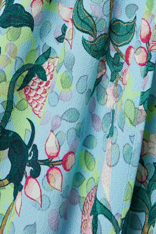 Diane von Furstenberg Evelyn reversible floral-print crepe wrap dress