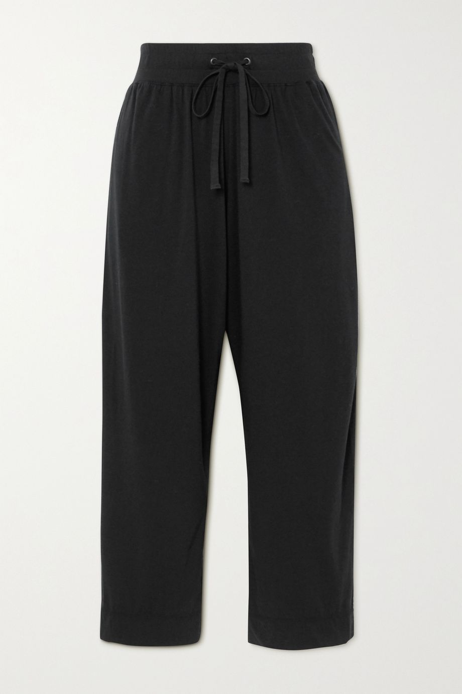 James Perse Lotus cotton-jersey track pants