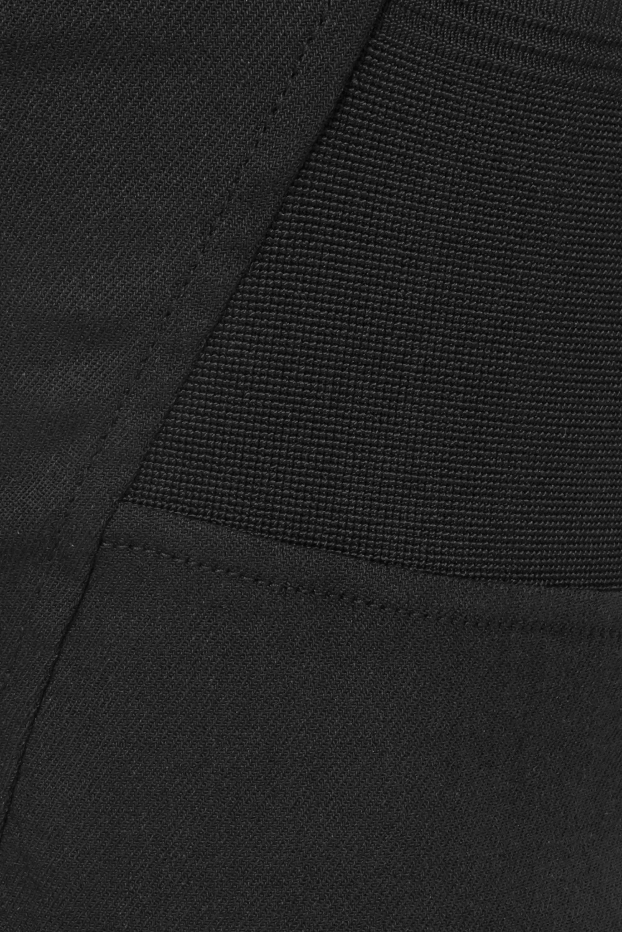 Burberry Cutout ramie-blend skinny pants