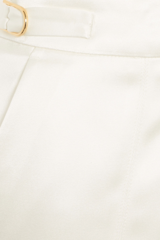 Gabriela Hearst Francisco silk-satin straight-leg pants