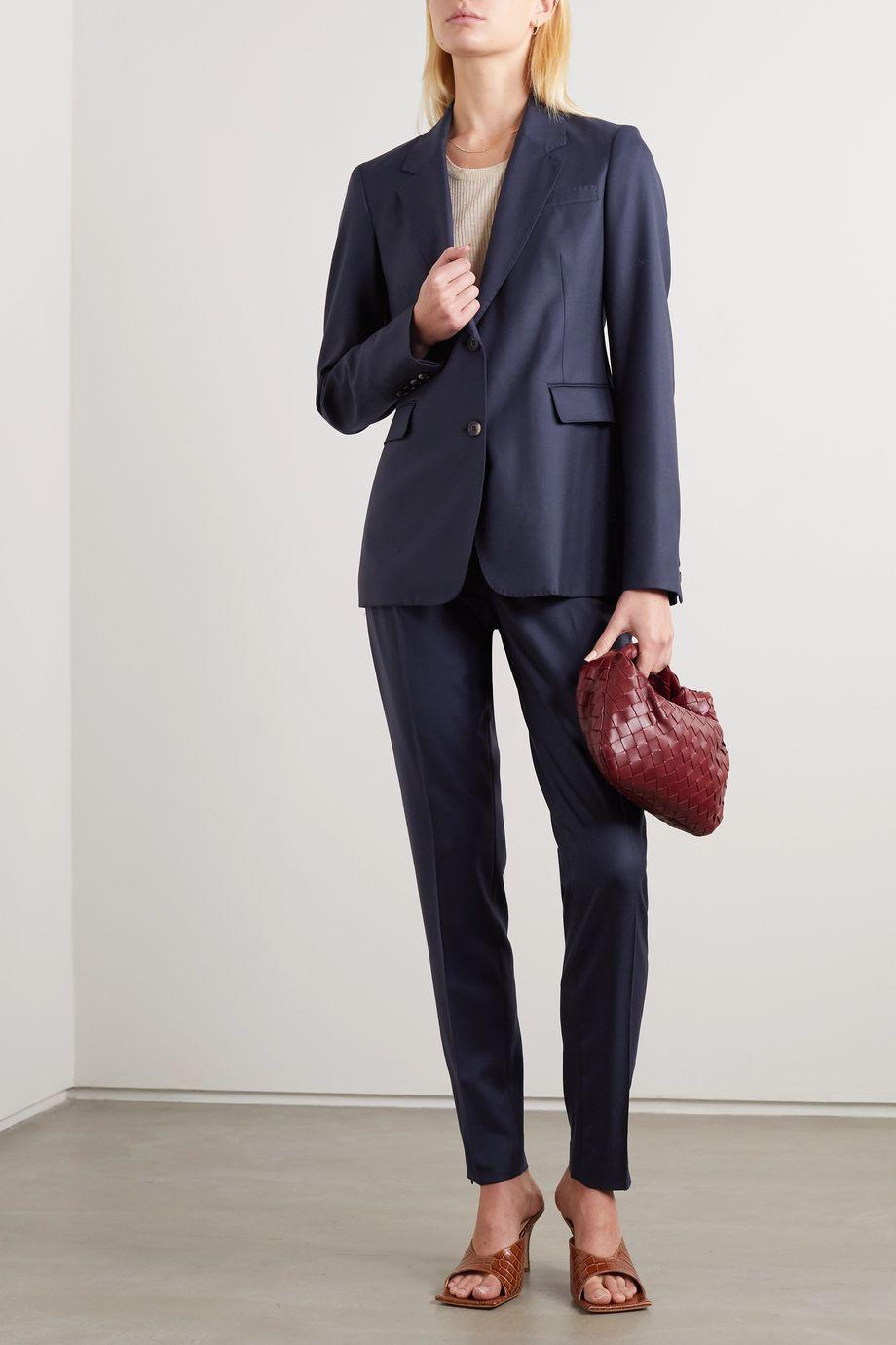 Gabriela Hearst + NET SUSTAIN Sophie wool blazer