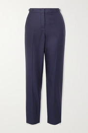 + NET SUSTAIN Lisa wool tapered pants