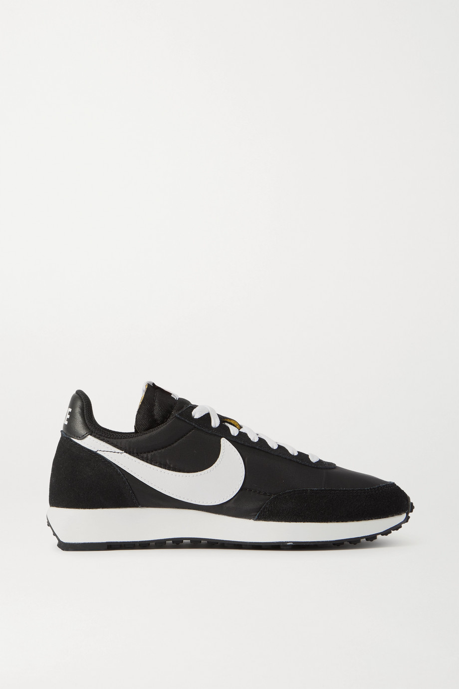 Nike Air Tailwind 79 leather-trimmed shell and suede sneakers