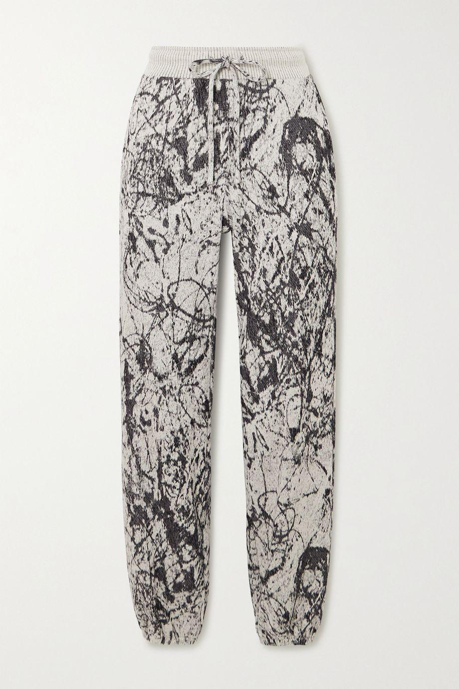 TWENTY Montréal Pollock Hyper Reality Jogginghose aus einer Baumwollmischung mit Print