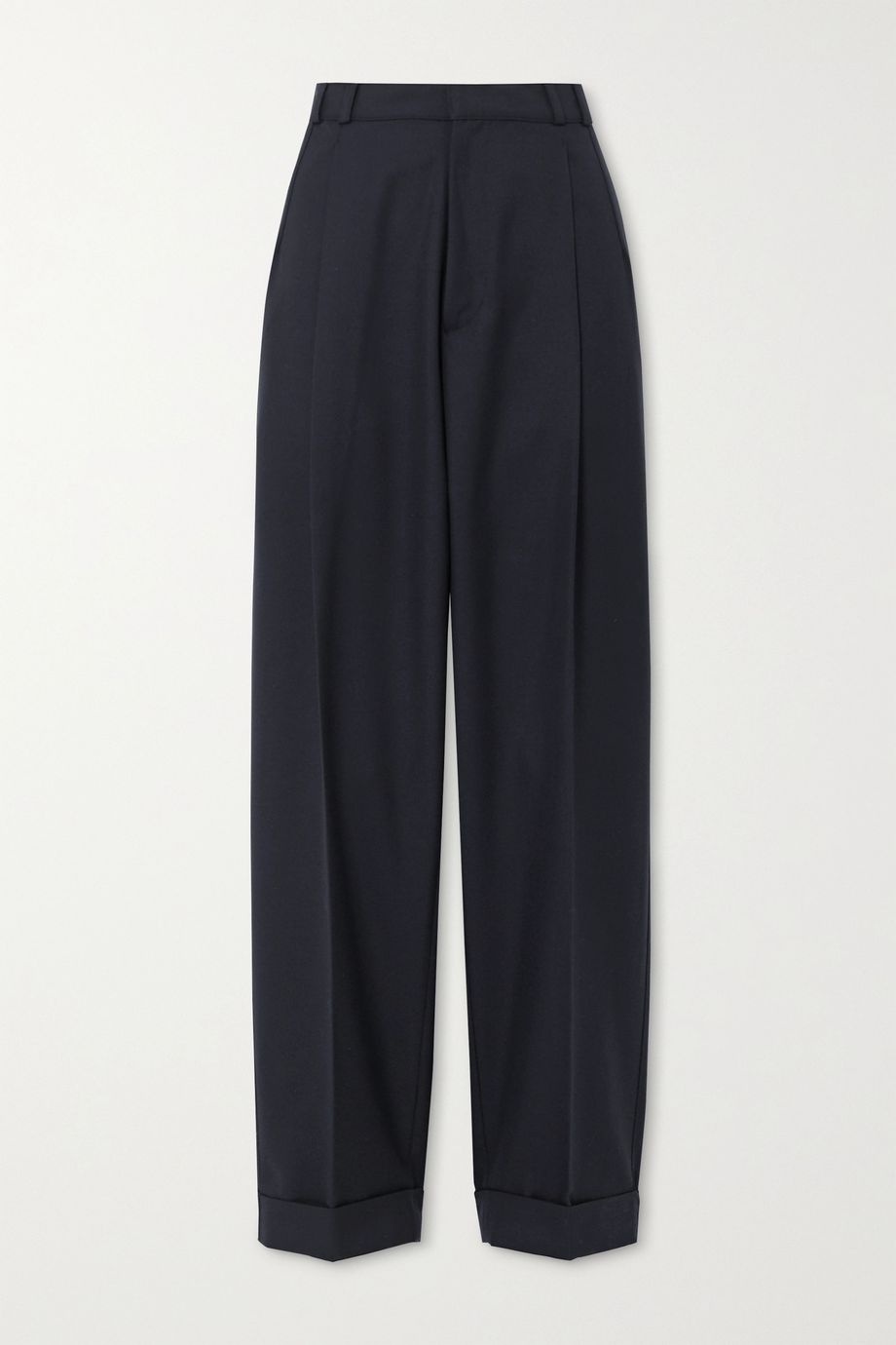 RE/DONE 80s pleated twill straight-leg pants