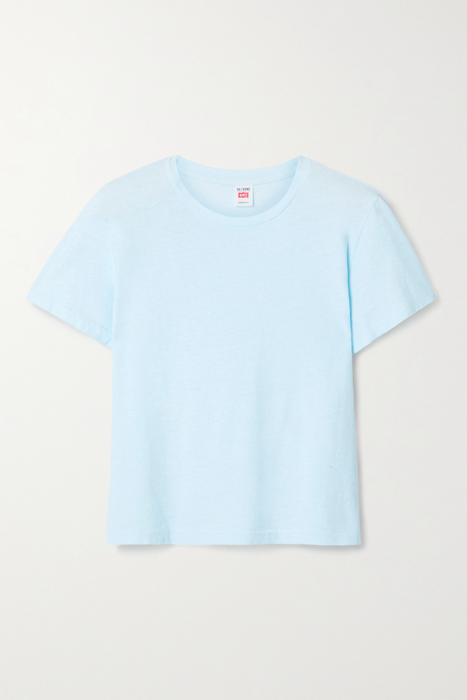 RE/DONE + Hanes Classic cotton-jersey T-shirt