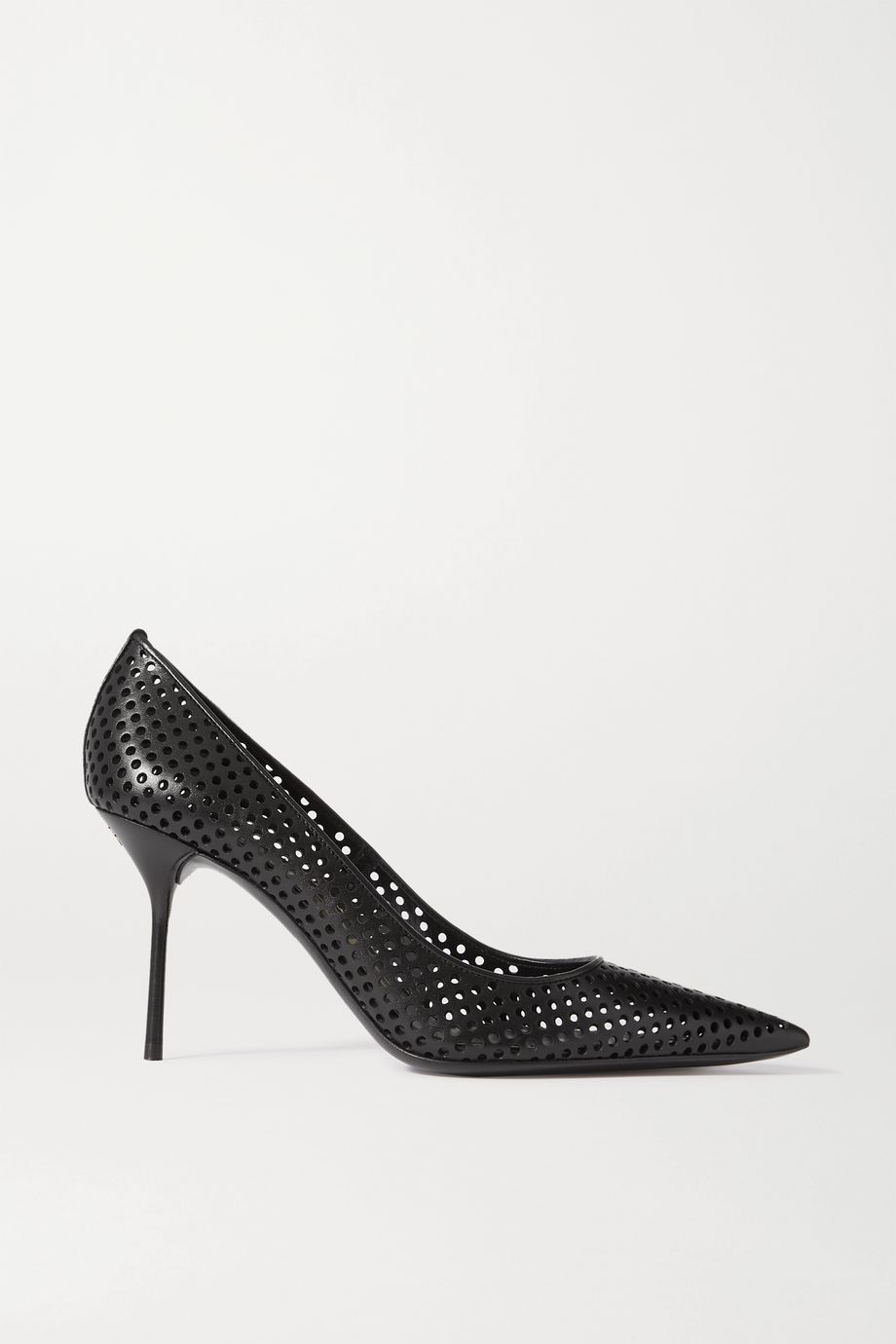 TOM FORD Perforated leather pumps