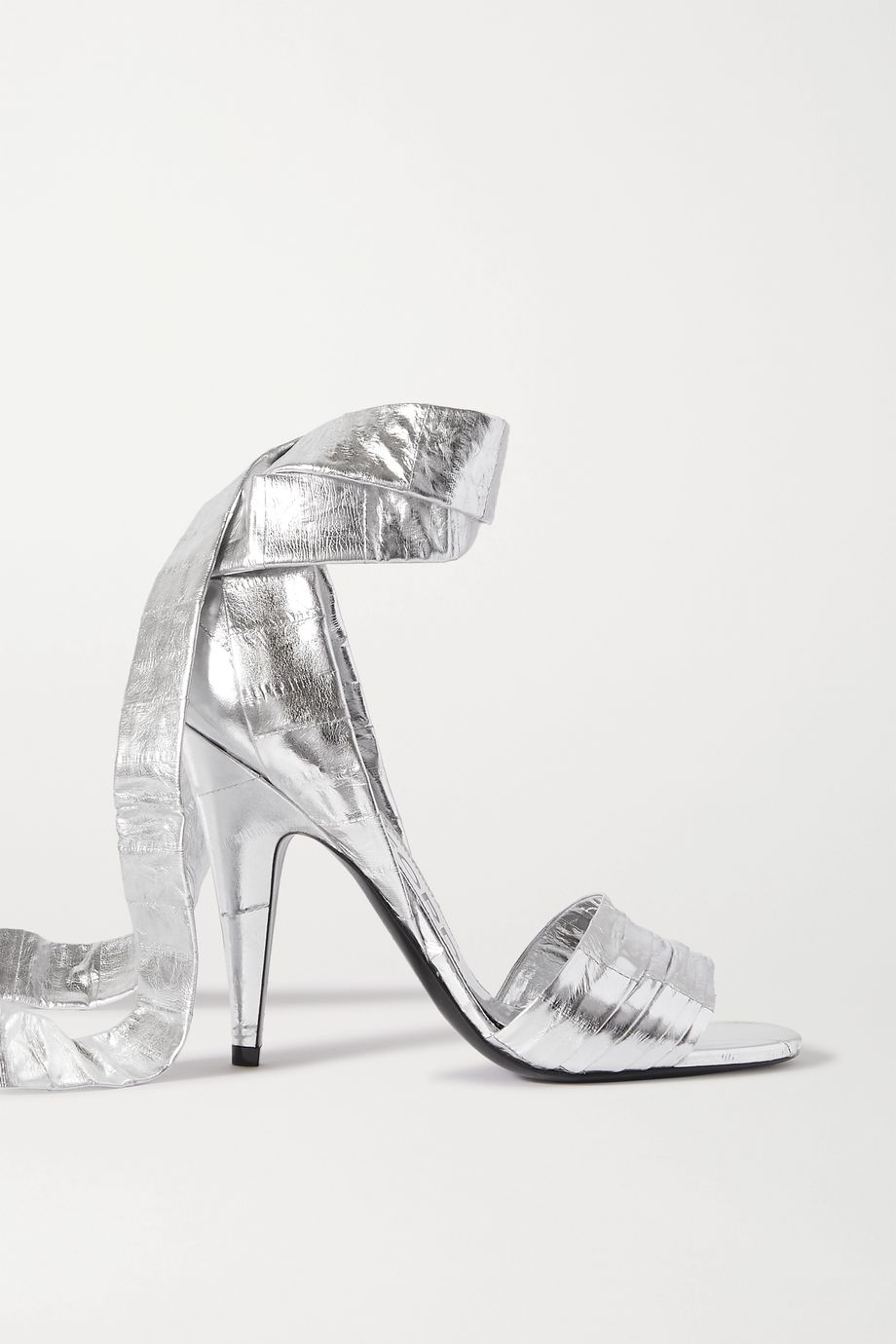 TOM FORD Metallic eel sandals