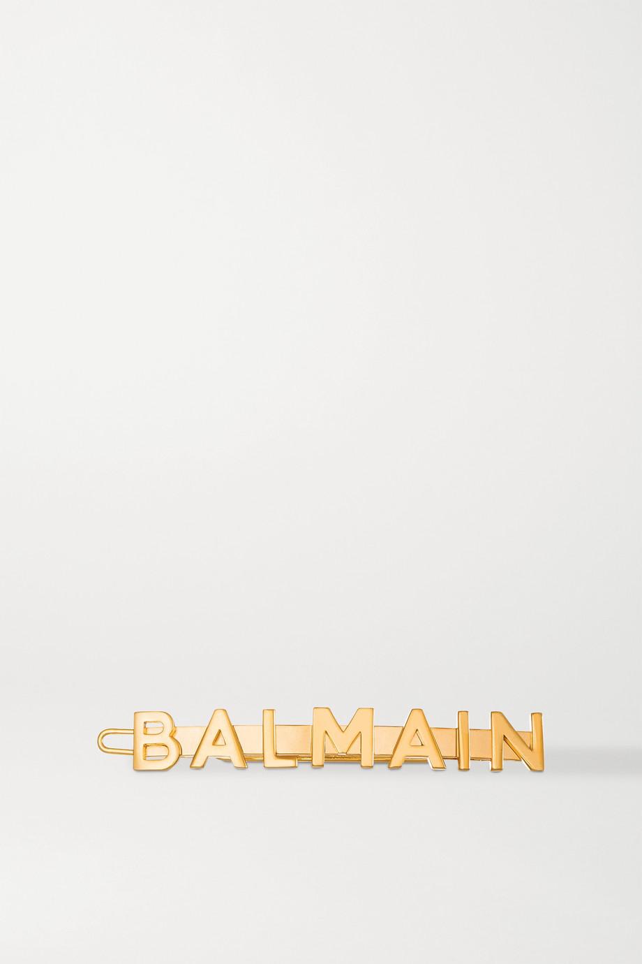 Balmain Paris Hair Couture Gold-plated hair slide