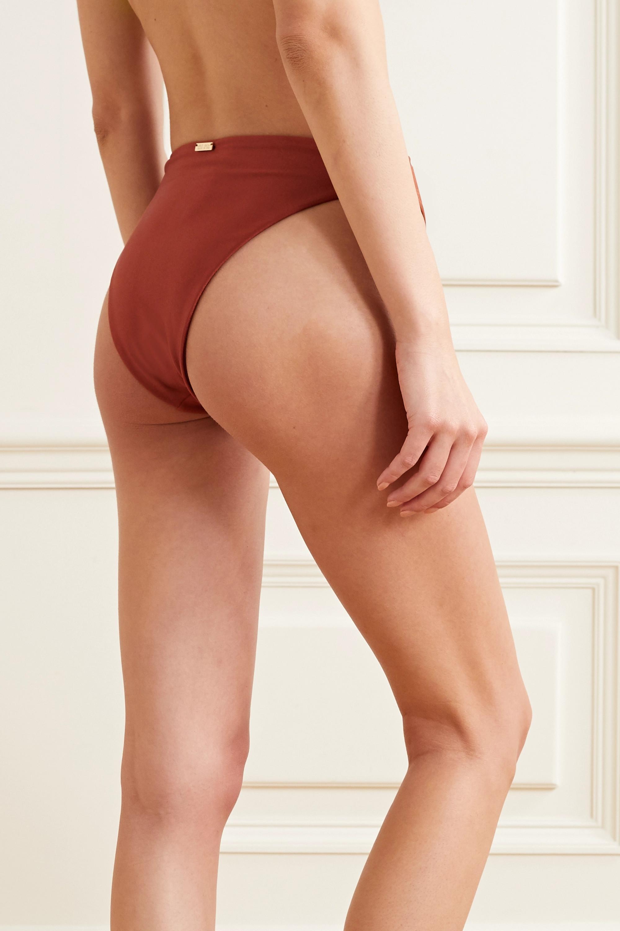 Cult Gaia Lexi embellished bikini briefs