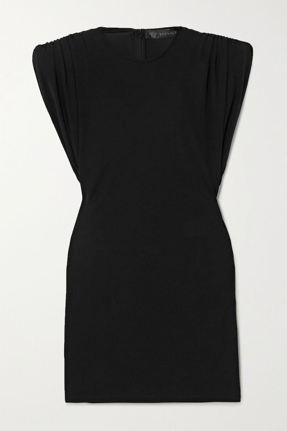 Versace Stretch-jersey mini dress
