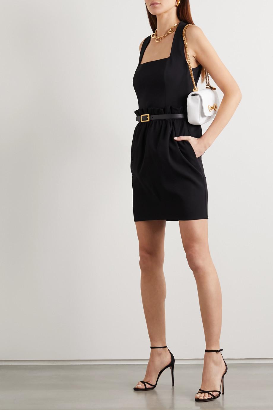 Versace Crepe mini skirt