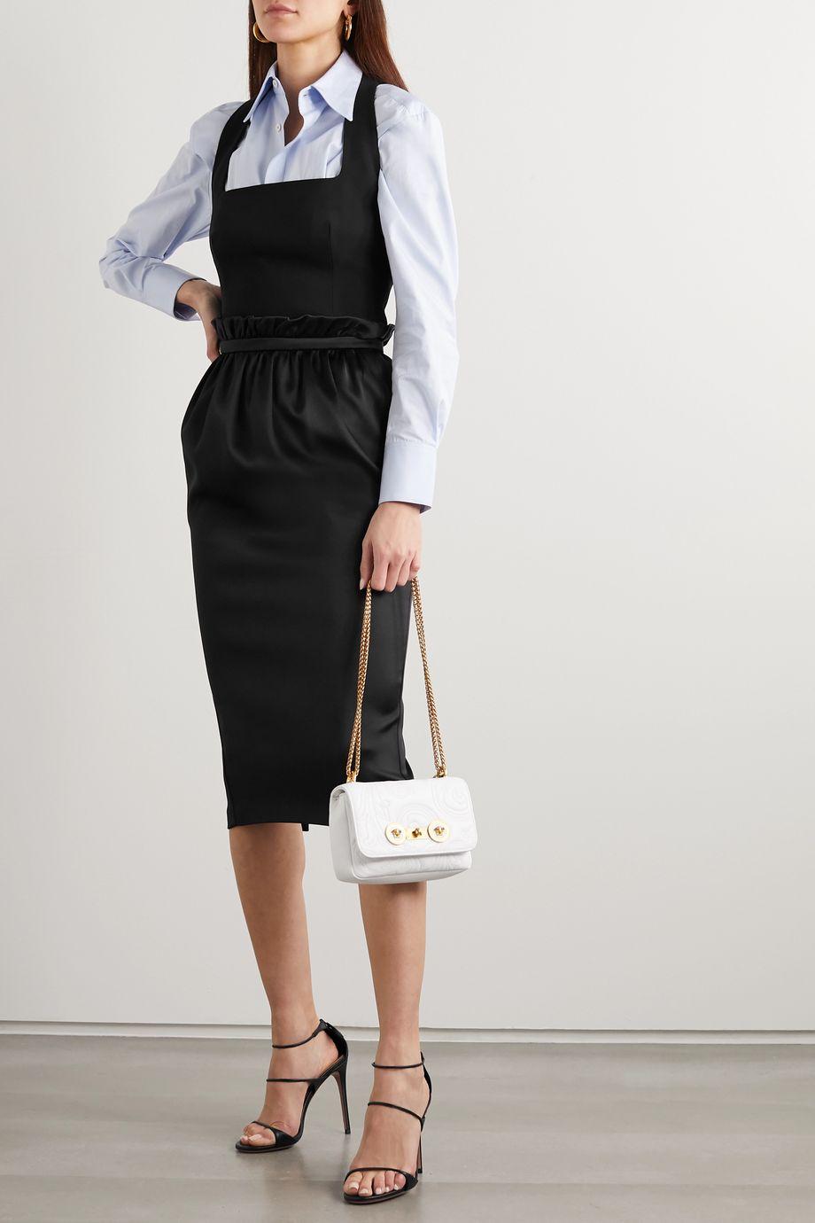 Versace Crepe bustier top