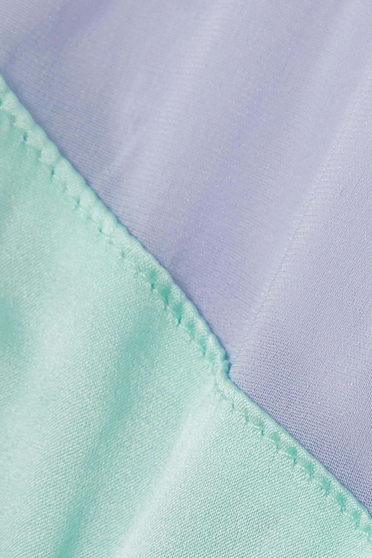 Araks + NET SUSTAIN Aaron stretch-silk satin and tulle briefs