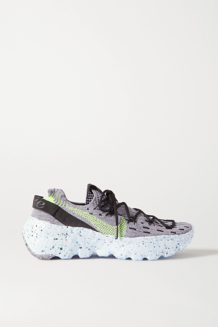 Nike Space Hippie stretch-knit sneakers