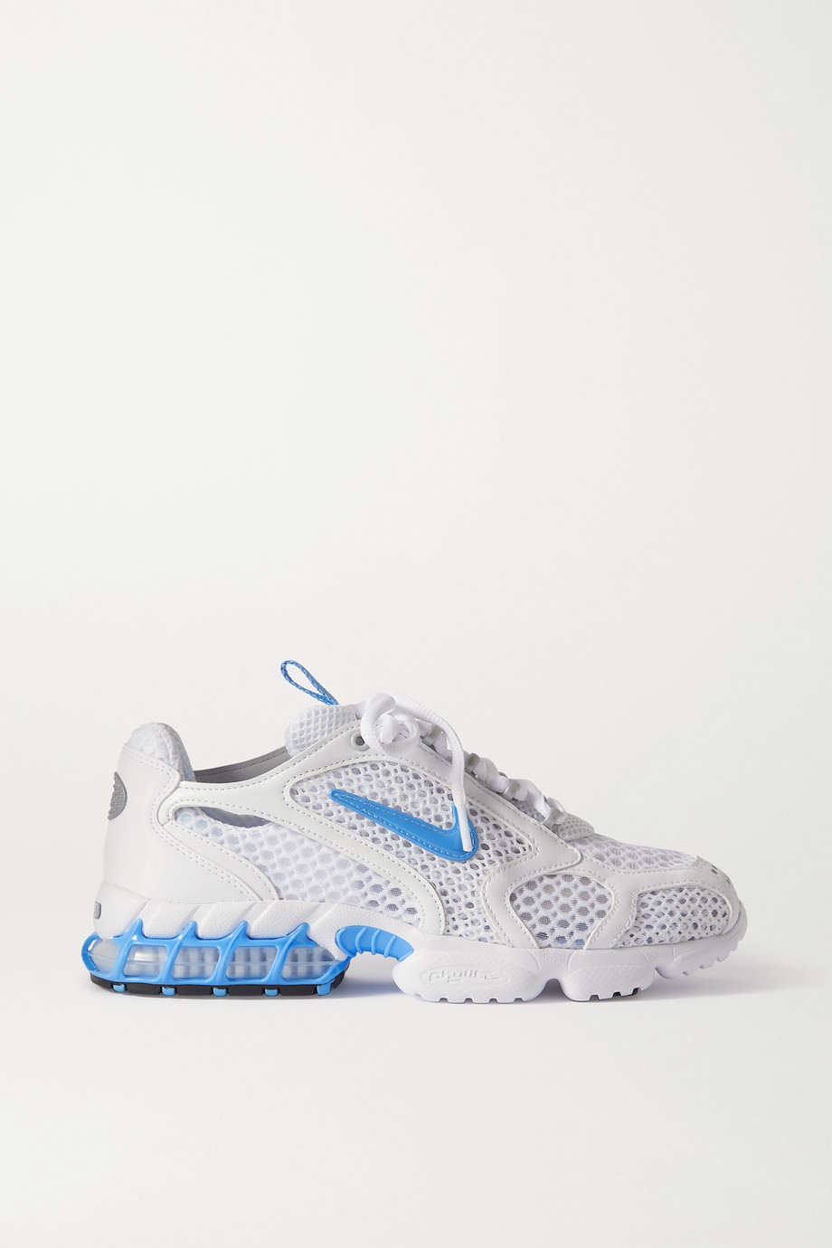 Nike Baskets en résille à finitions en cuir synthétique Air Zoom Spiridon Cage 2