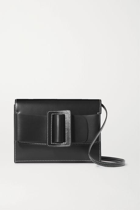 Black Buckle leather shoulder bag | BOYY do1MxR