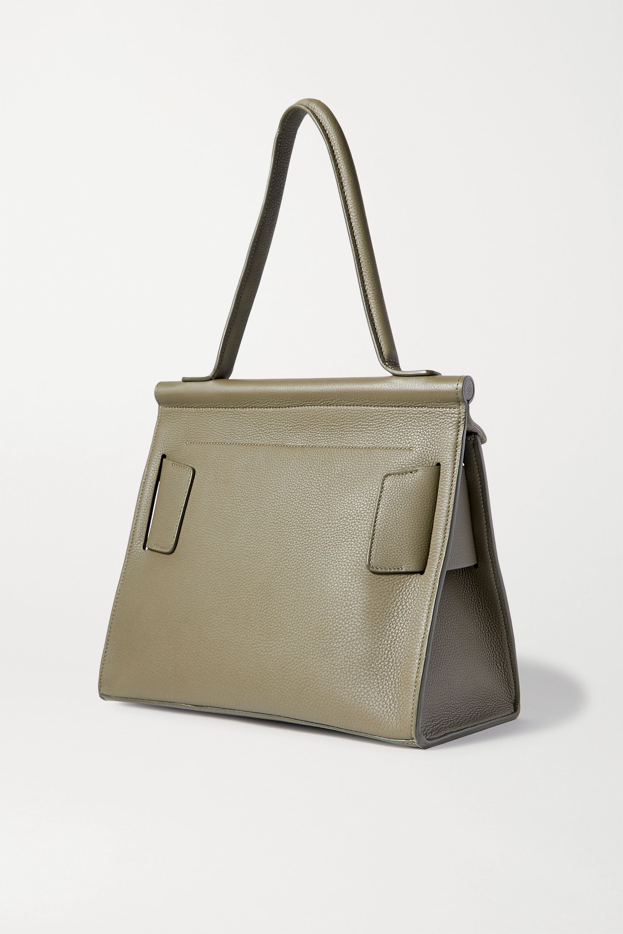BOYY Karl Soft buckled textured-leather tote
