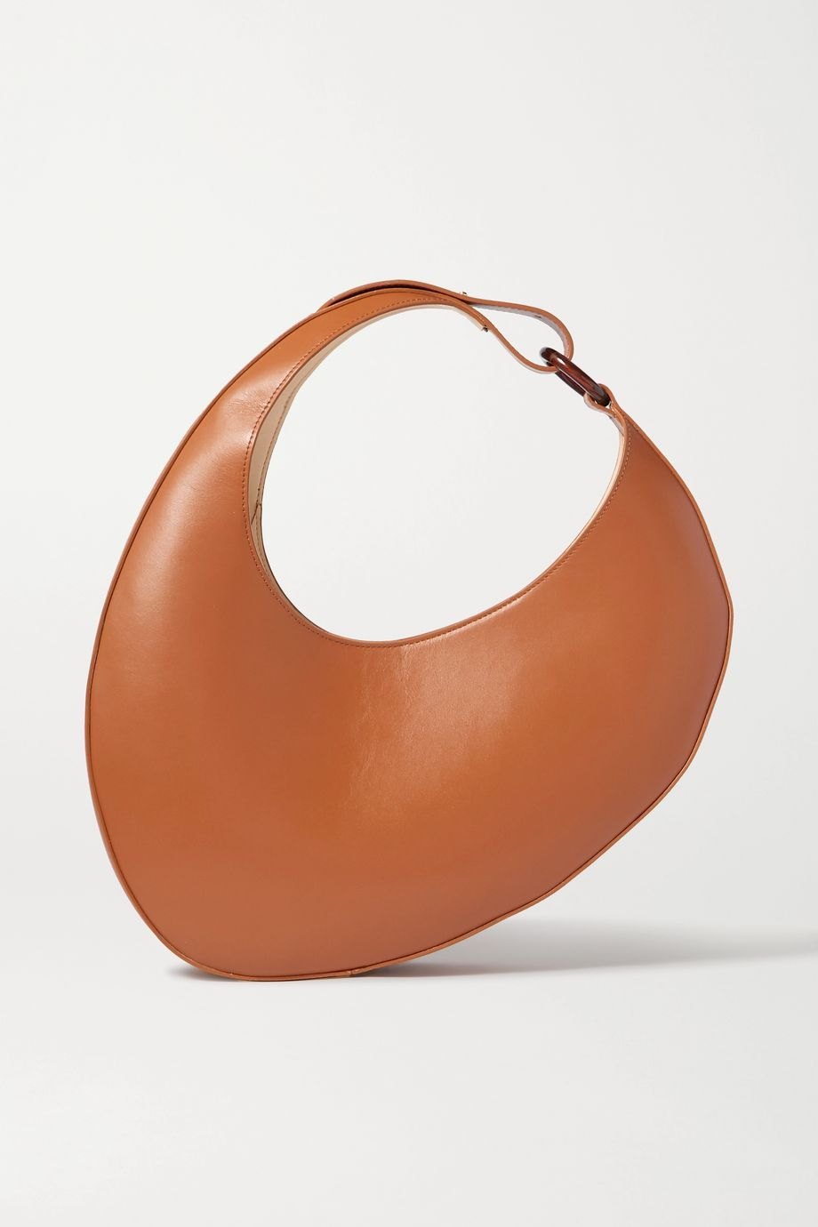 Carolina Santo Domingo Ostra leather shoulder bag