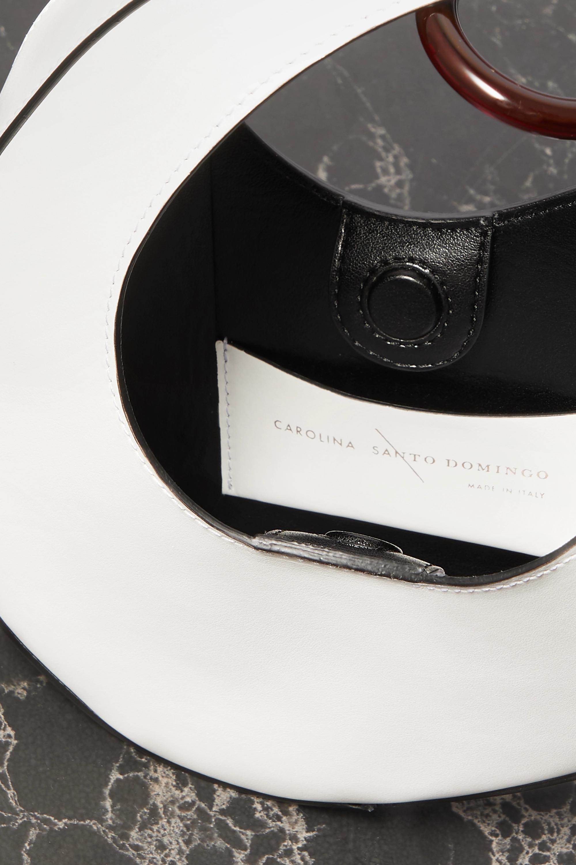 Carolina Santo Domingo Ostra mini leather tote