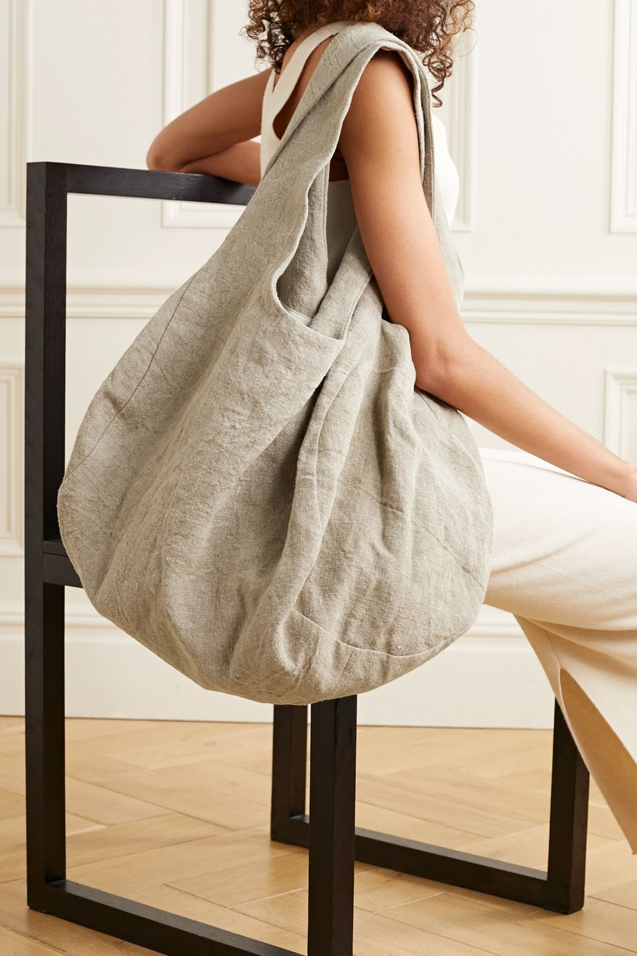 Lauren Manoogian Linen shoulder bag