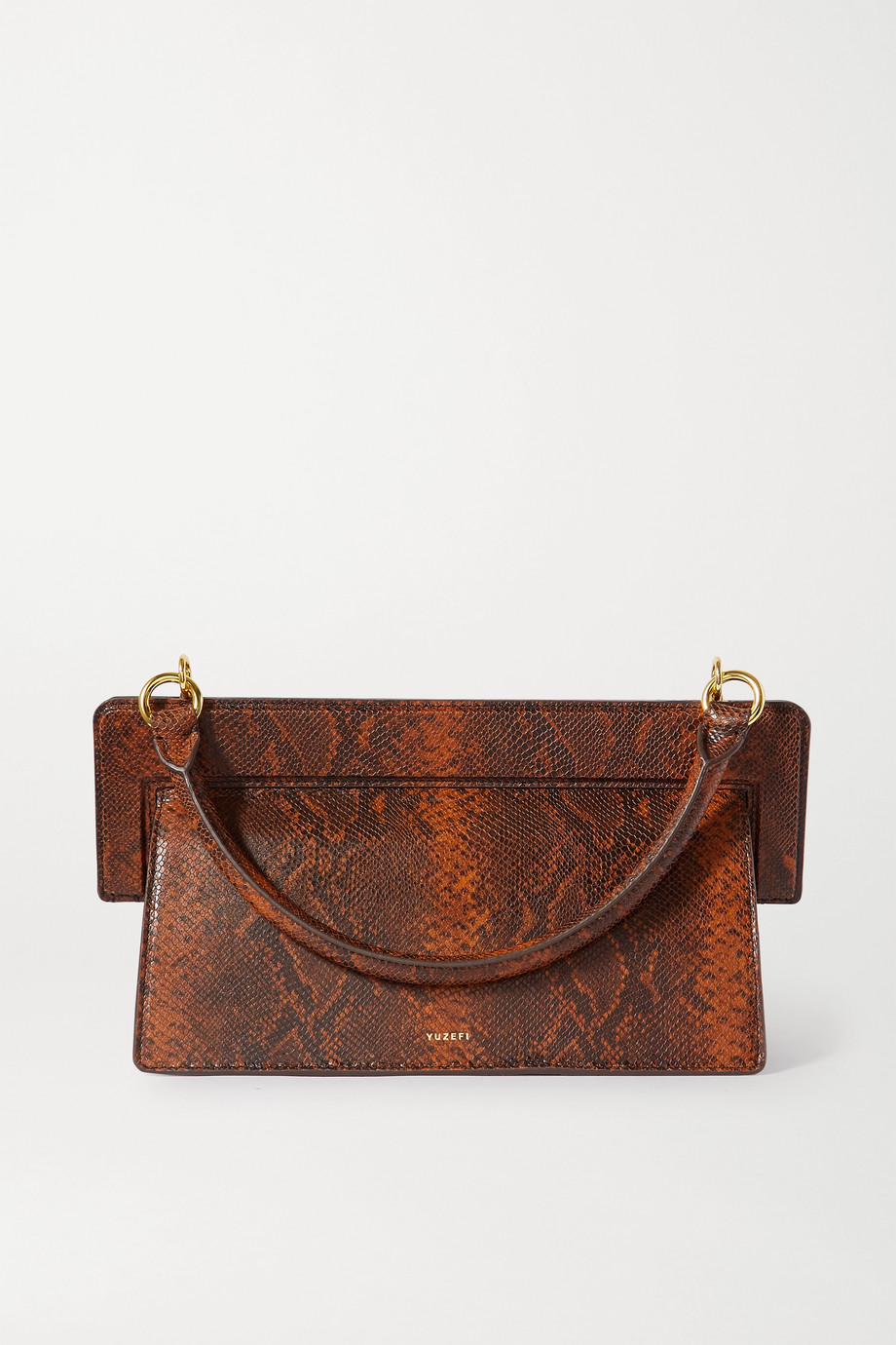Yuzefi Ada snake-effect leather tote