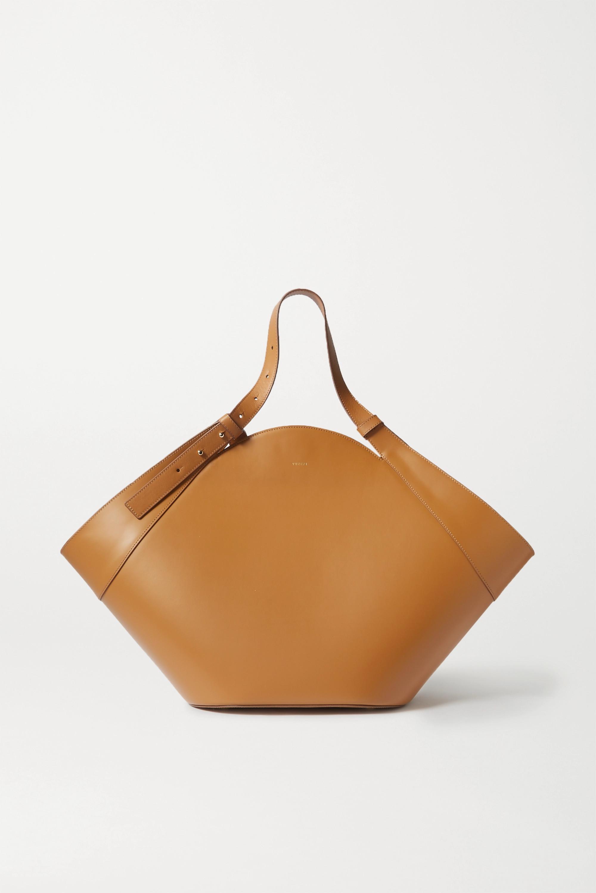 Yuzefi Basket leather shoulder bag