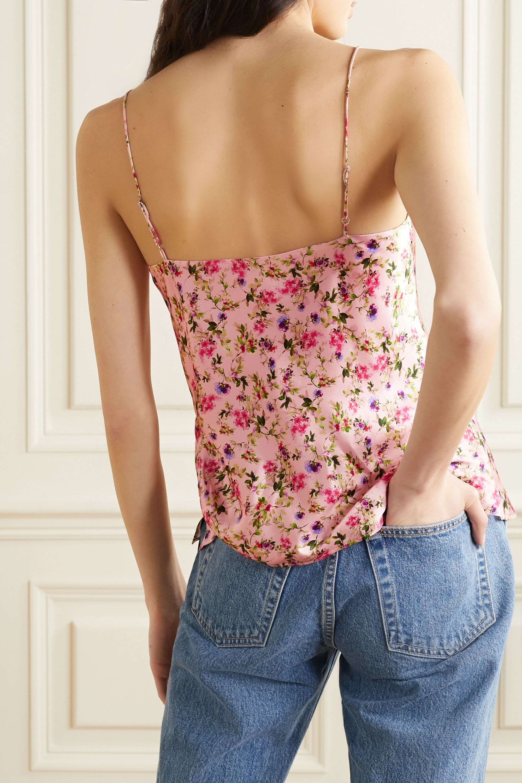 Cami NYC The Raine floral-print silk-charmeuse camisole