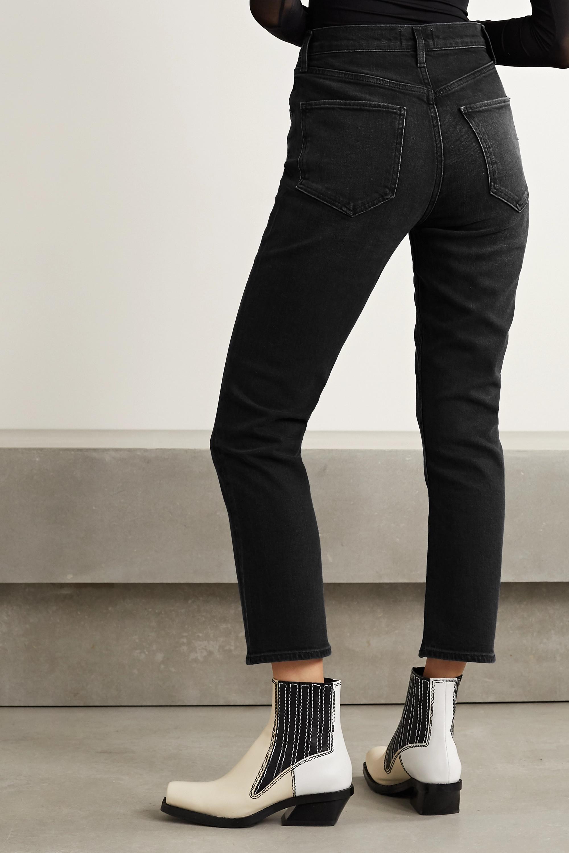 AGOLDE Riley hoch sitzende Jeans mit geradem Bein