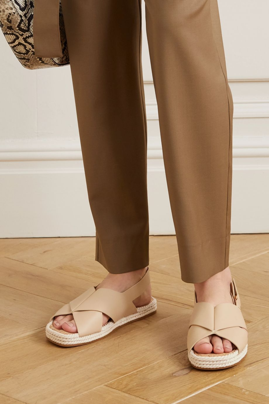 Vince Essen leather espadrille sandals