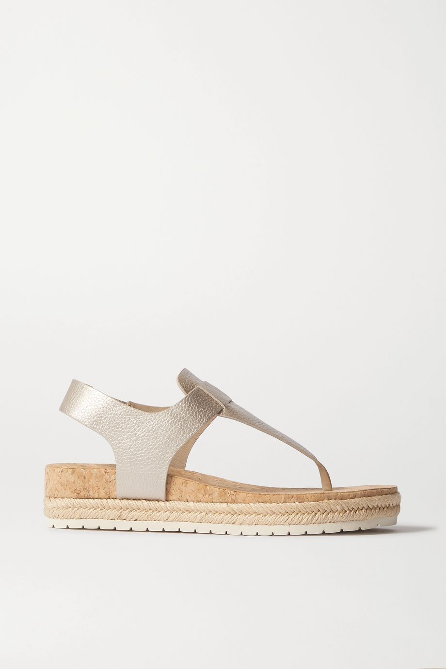 Vince Flint leather espadrille platform sandals
