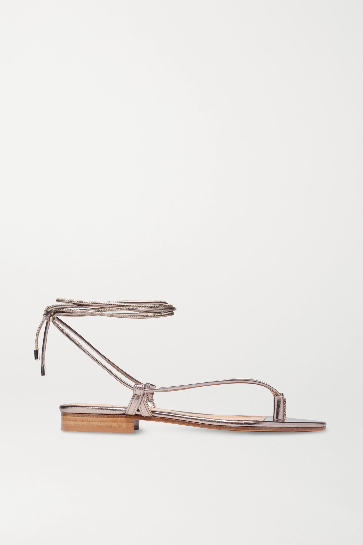 Emme Parsons Ava Sandalen aus Metallic-Leder