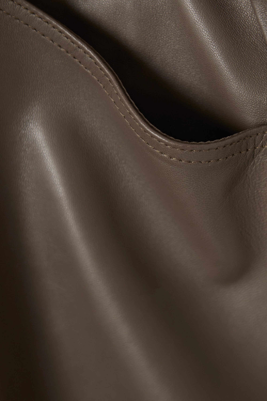 GOLDSIGN Leather shorts