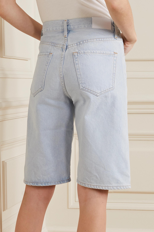 GOLDSIGN + NET SUSTAIN denim shorts
